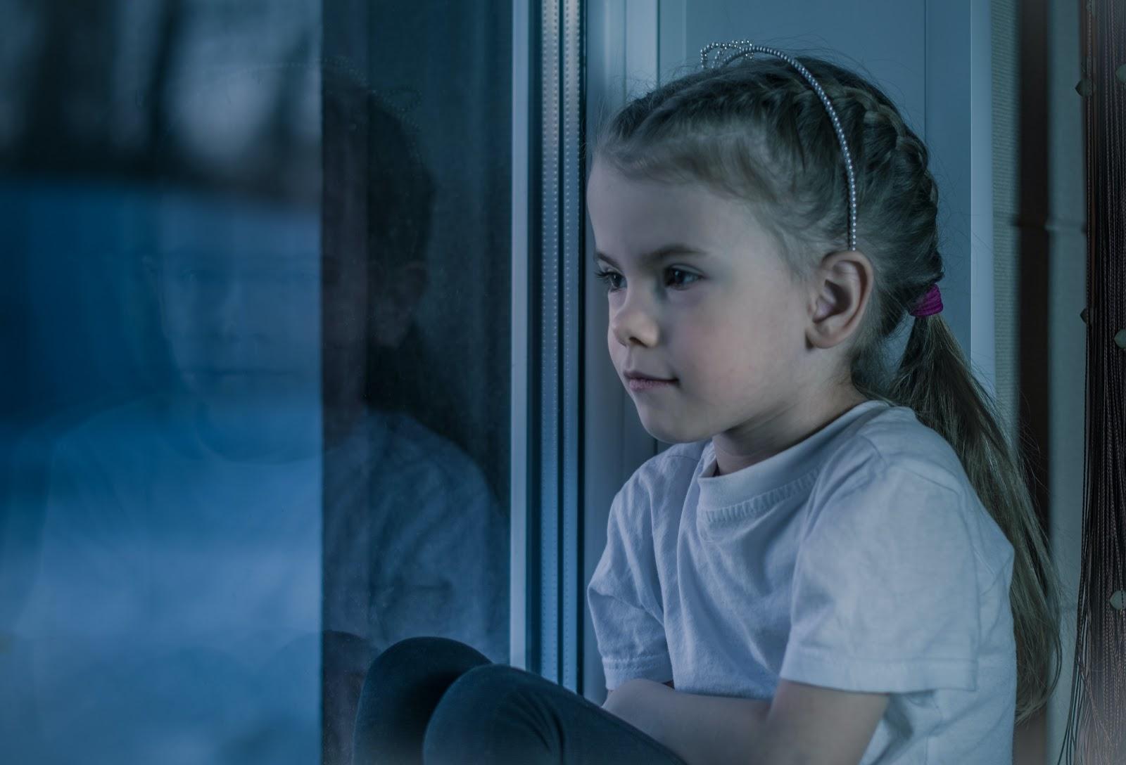 Enneagram type 9 childhood behavioural model