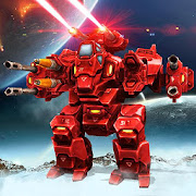 Futuristic Robot War Simulator