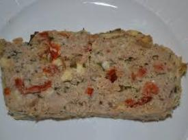 Turkey Meatloaf With Feta And Sun-dried Tomatoes Recipe