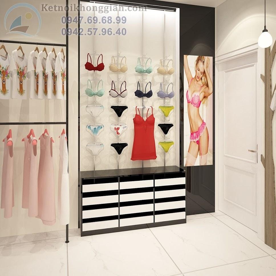 thiết kế shop thời trang công sở đẳng cấp chất lượng