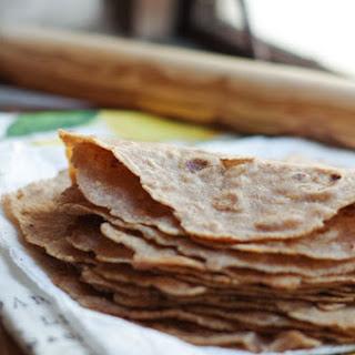 Homemade Spelt Flour Tortillas