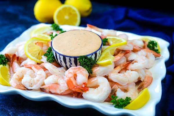 Zippy Shrimp Remoulade Platter.