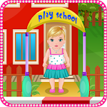 Kindergarten baby care games