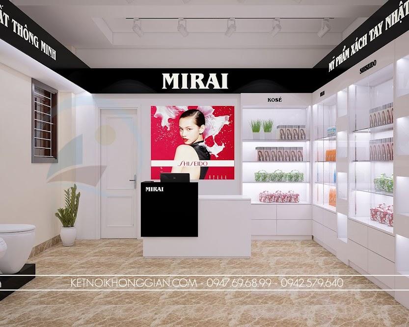 thiết kế cửa hàng tạp hóa hiện đại