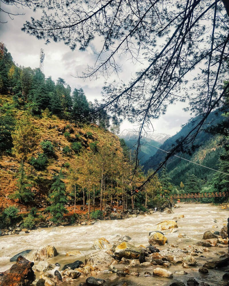 kasol parvati valley kullu district parvati river himachal india