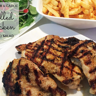 Lemon Herb & Garlic Grilled Chicken
