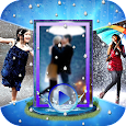 Rainy Photo Video Music Maker icon