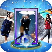 Rainy Photo Video Music Maker