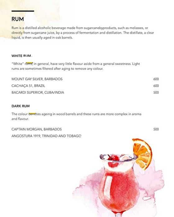 Luna Nudo menu 2