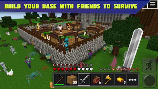 Planet of Cubes Survival Craft- screenshot thumbnail