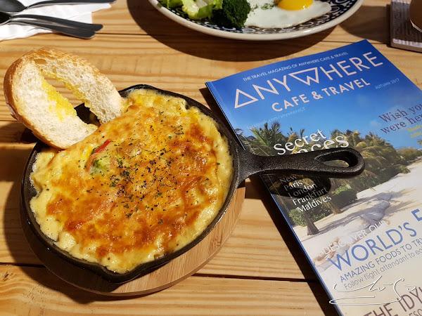 Anywhere Cafe & Travel ➤ 任意門旅行風咖啡館 ~ 帶你走向世界吃美食 ~ 美中不足的是哪裡呢?