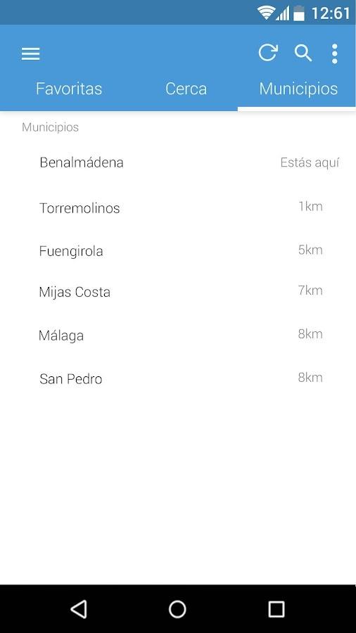 Infomedusa- screenshot