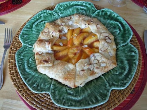 "Peach and Almond Galette ""Delicious easy dessert! Not too sweet!"" - 29176..."
