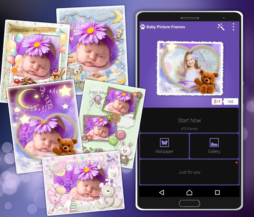 baby picture frames android apps on google play
