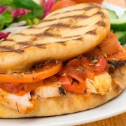 Chicken and Mozzarella Panini Sandwich