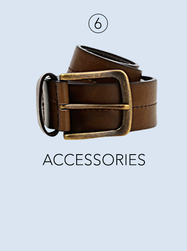 Shop some stylish wardrobe accessories for Father's Day at George.com