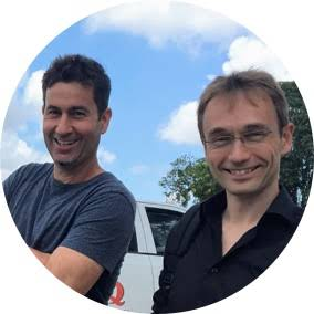 Markus Hohenwarter and Stephen Jull profile pictures