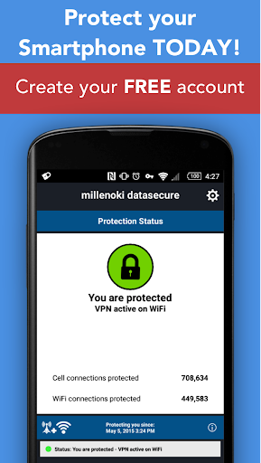 Secure VPN, datasecure by millenoki Ltd for PC