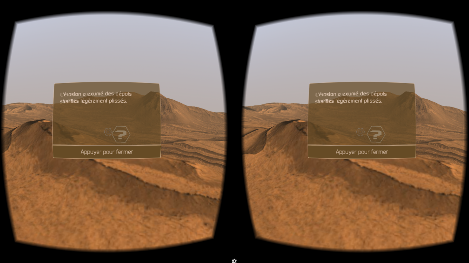 VR2Mars Cardboard- screenshot