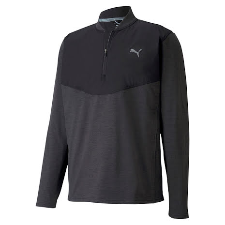Puma Golf CloudSpun 1/4 Zip Black
