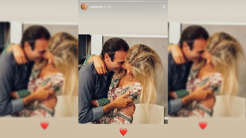Ana Soria ha compartido una imagen en sus stories.