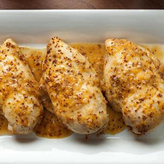 Orange-Honey-Mustard Baked Chicken Breasts.