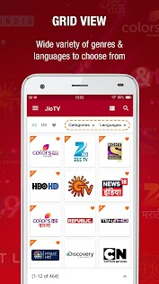 JioTV Live Sports Movies Shows Apps (apk) gratis te downloaden voor Android/PC/Windows screenshot