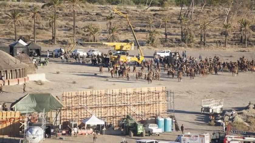 Imagen de una de las grabaciones realizadas en la provincia.