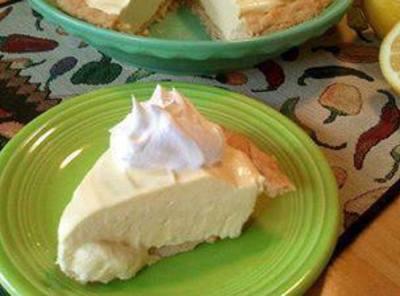 No Bake Lemon Pie Recipe