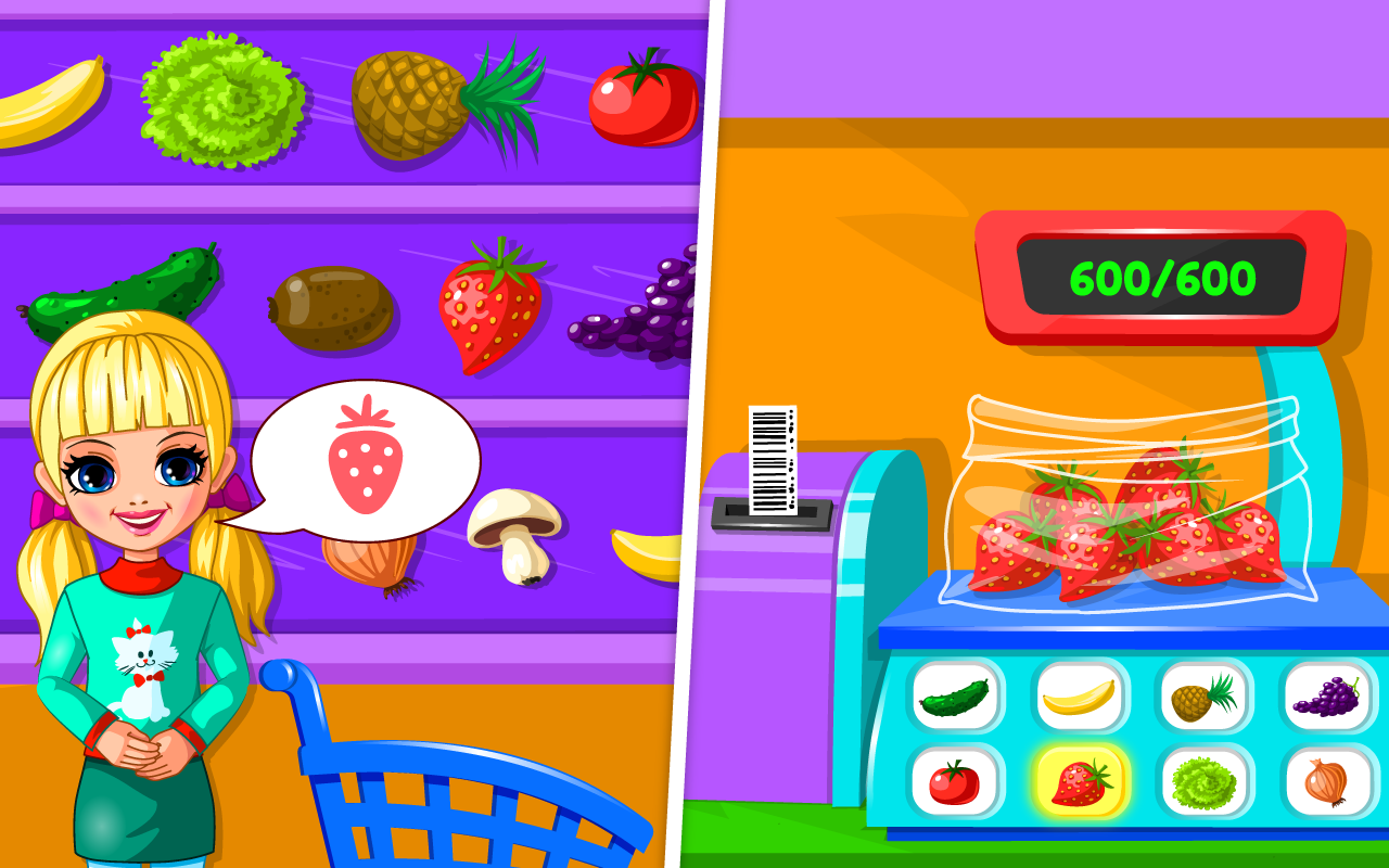 Supermarket Permainan Anak Apl Android Di Google Play