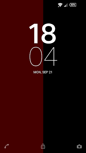 Red Linear Theme