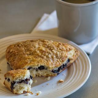 Almond Flour Blueberry Scones.