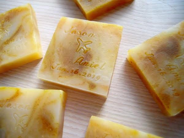清新白麝香皂