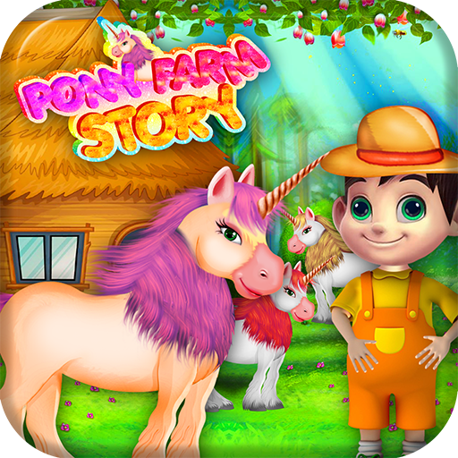 休闲のポニーストーリーファームゲーム LOGO-記事Game