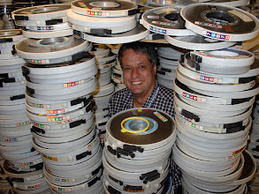 Photo: Final purge of MTS/MVS era 6250 bpi tapes at UBC in 2010