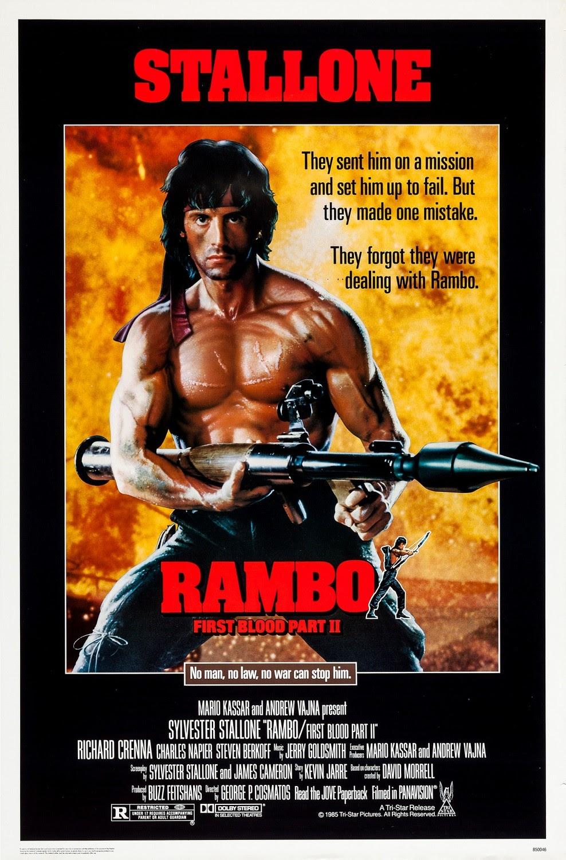 Rambo II - A Vingança do Herói (1985)