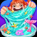 Fluffy Trendy Slime - Mermaid & Flower Slime Fun icon