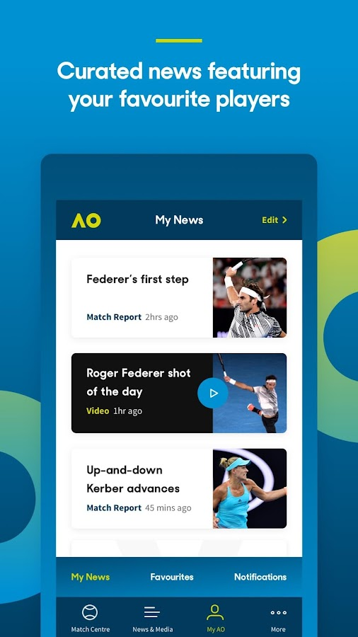 Australian Open Tennis 2018- screenshot