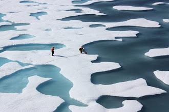 Photo: Arctic Melt Pond