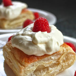 Chew on This | Meyer Lemon Cream Puff Pastries.