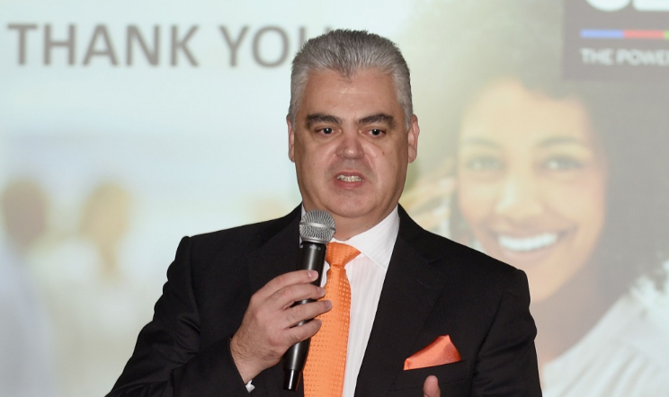 Cell C's CEO Jose Dos Santos. Picture: FREDDY MAVUNDA