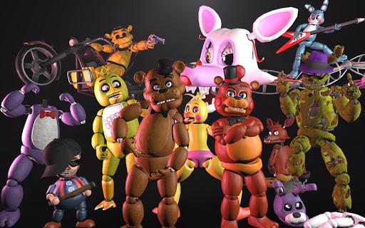 自由 Five Nights at Freddy 指南