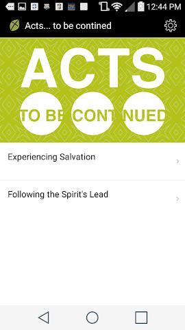 android Fellowship Greenville Church Screenshot 1