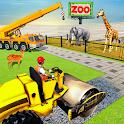 Animal Zoo Construction Simulator icon