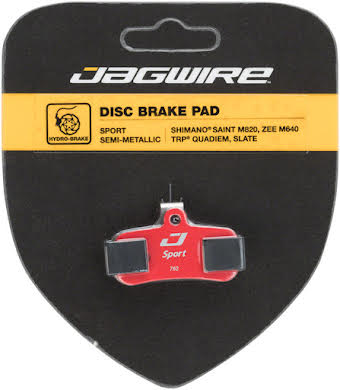Jagwire Sport Disc Brake Pads for Shimano Saint M820, M810, Zee M640 alternate image 0