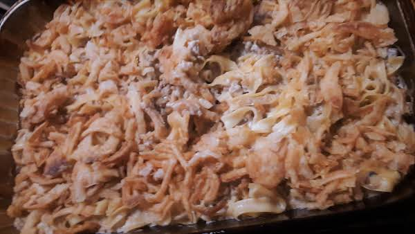 Lightly Browned French Onions Bring The Wow Factor Of Taste To This Easy Casserole