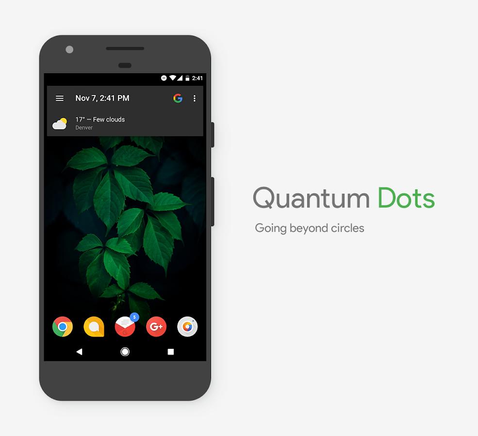 Gmail themes dots - Quantum Dots Icon Pack Screenshot