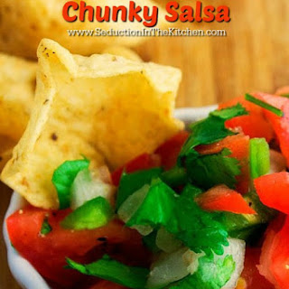 Basic Simple Chunky Salsa