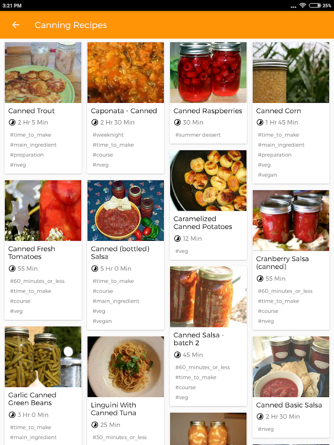 Recipe Book- screenshot