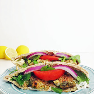 Turkey Kofta Pitas.